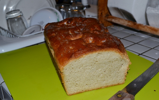 first g.f. loaf of bread