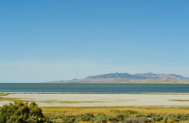 view of the Great Salt Lake